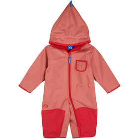 Finkid Pikku Combinaison hivernale Fille, rose/red
